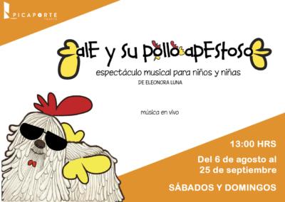 ALE Y SU POLLO APESTOSO